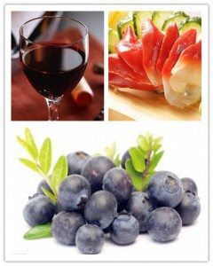 Ningbo imported foods wine berries fish